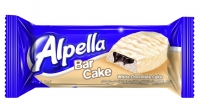 Alpella White Chocolate Covered Bar Cake With Cocoa Cream 40G