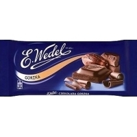 Wedel chocolate bar 100g bitter