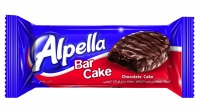 Alpella Chocolate Covered Bar Cake With Cocoa Cream 40G